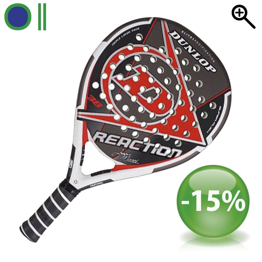 Pala de padel Dunlop Reaction 1.1
