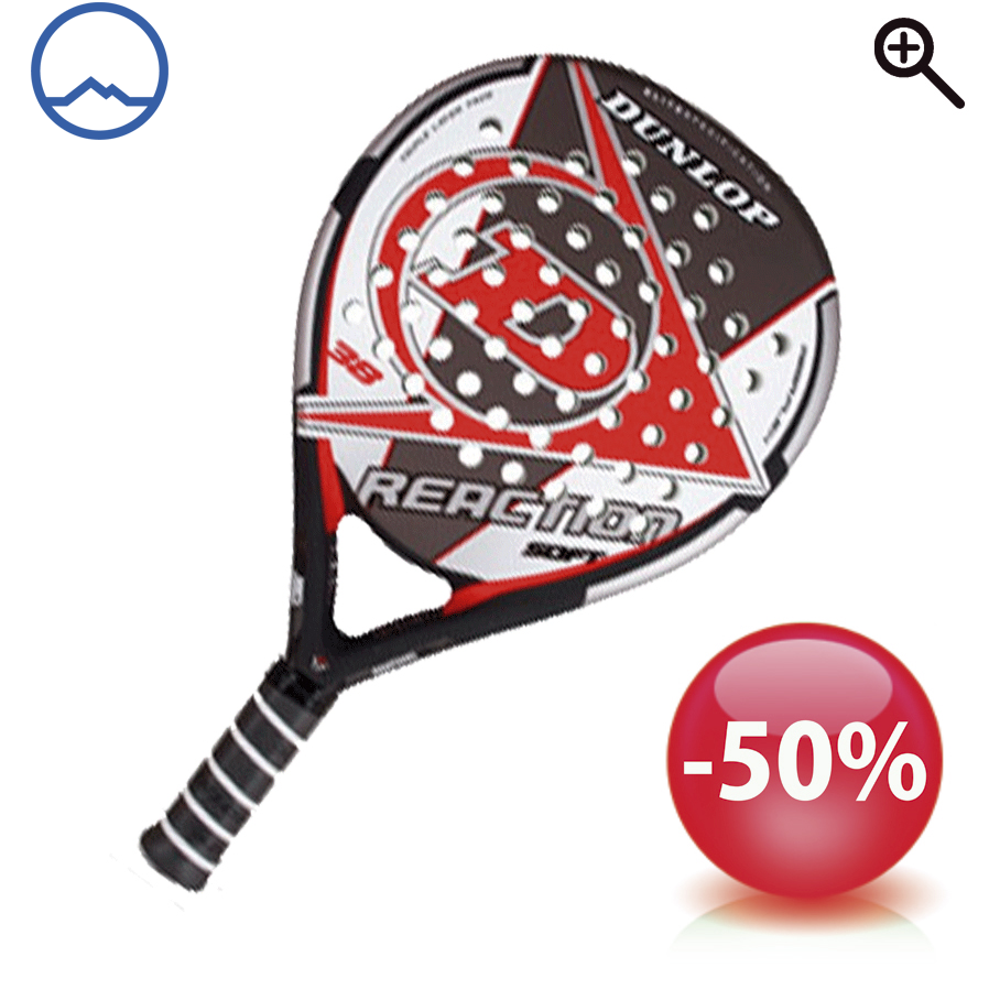 Pala de padel Dunlop Reaction Soft