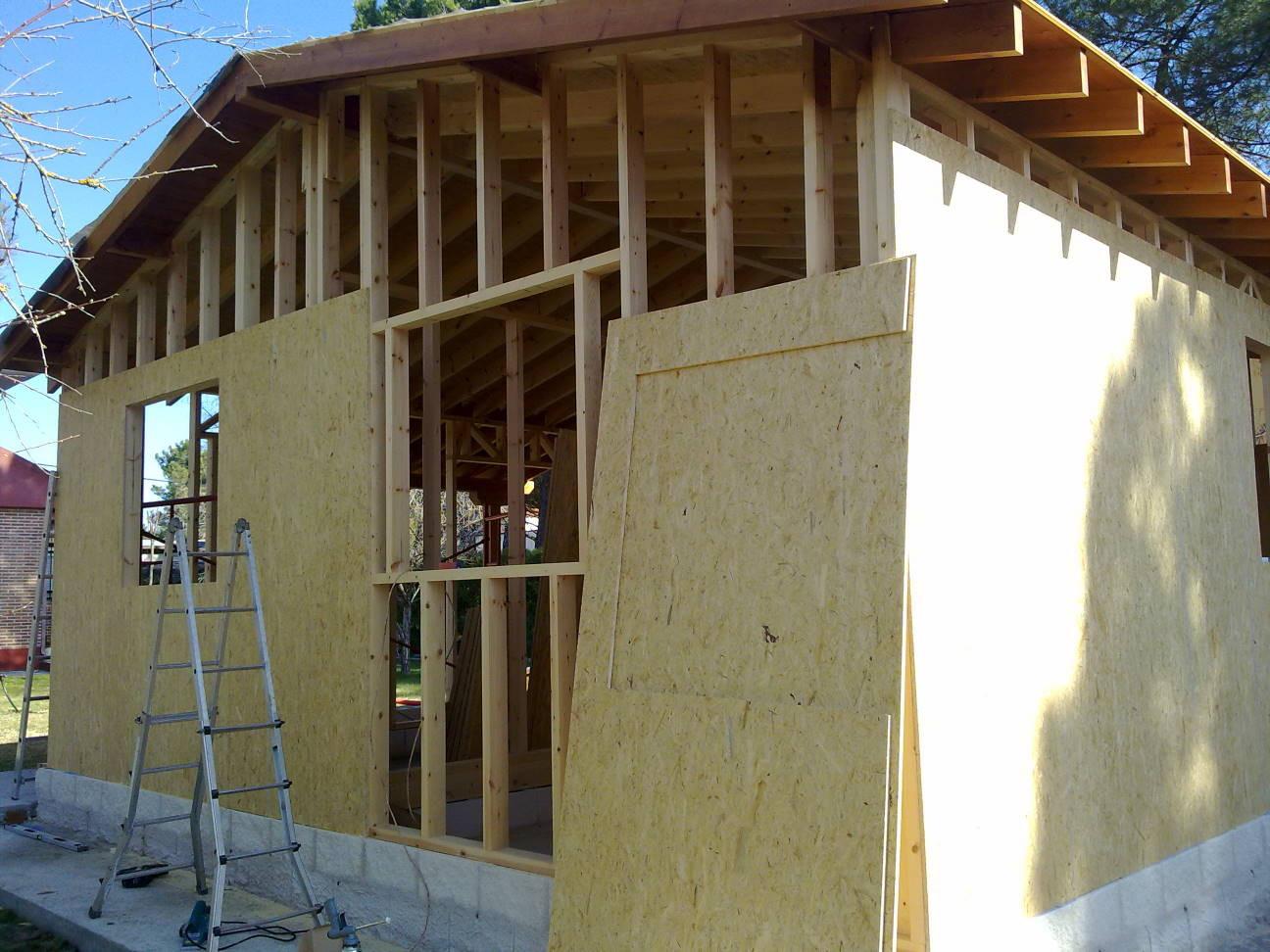 Casas prefabricadas madera casas entramado ligero - Casas prefabricadas en las palmas ...