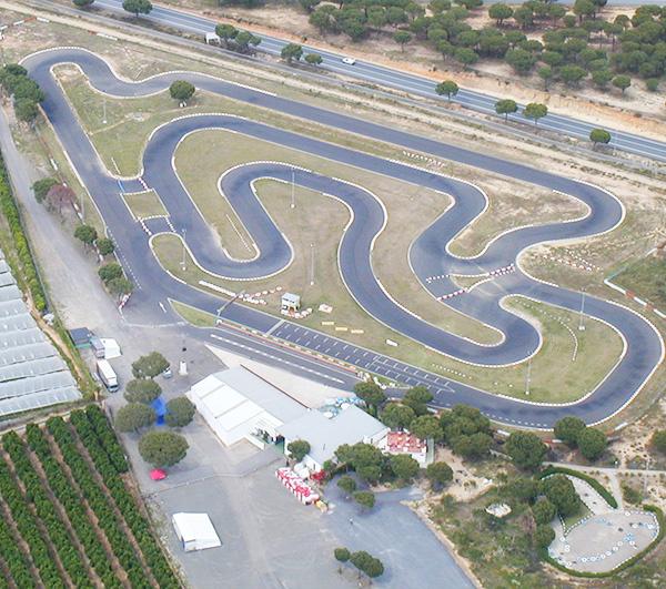 Circuito Karting : Kartodromo de cartaya