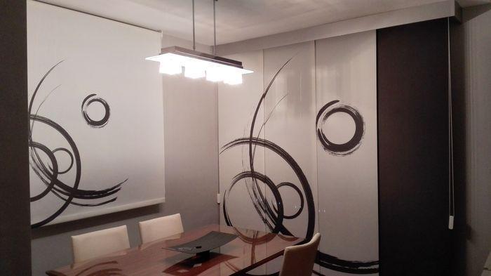 Blanco villar decoraci n cortinas de todos los tipos en for Visillos cocina modernos