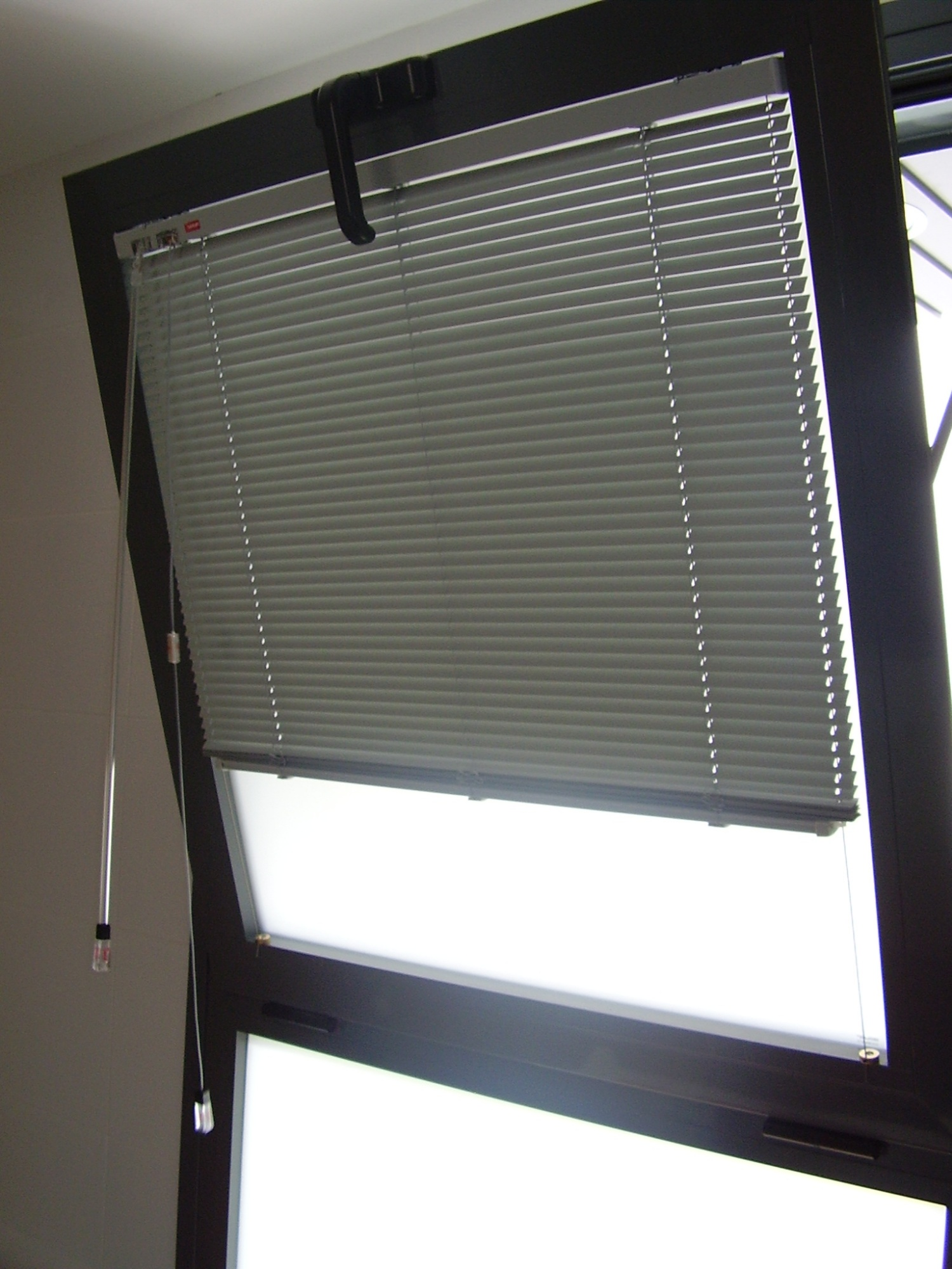 Blanco villar decoraci n cortinas de todos los tipos en - Persiana veneciana aluminio ...