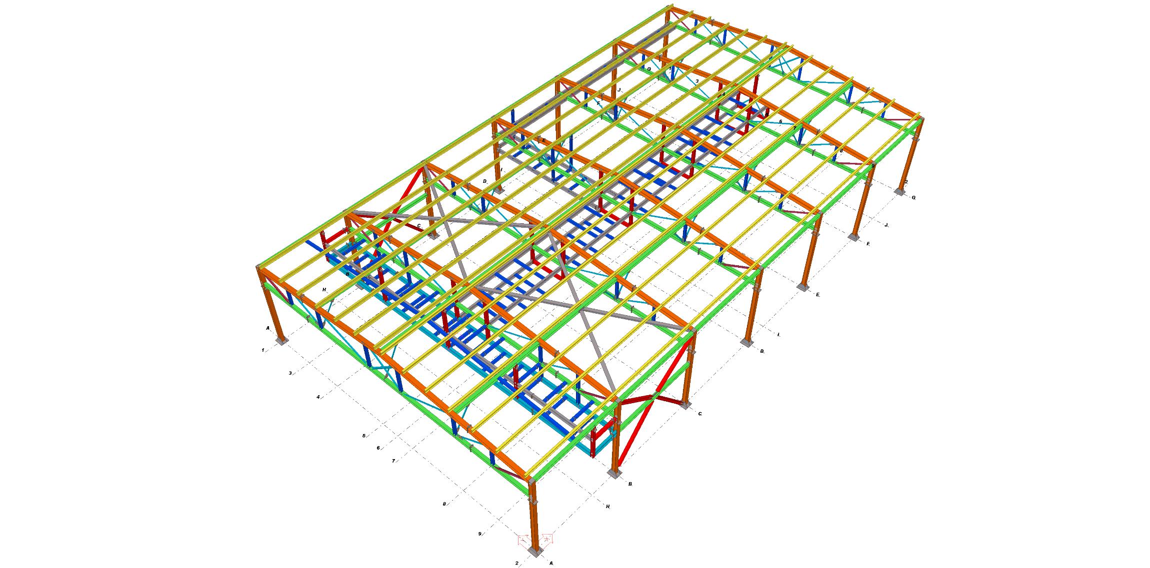 Ingeniería de Detalle para Nave Industrial en Egipto