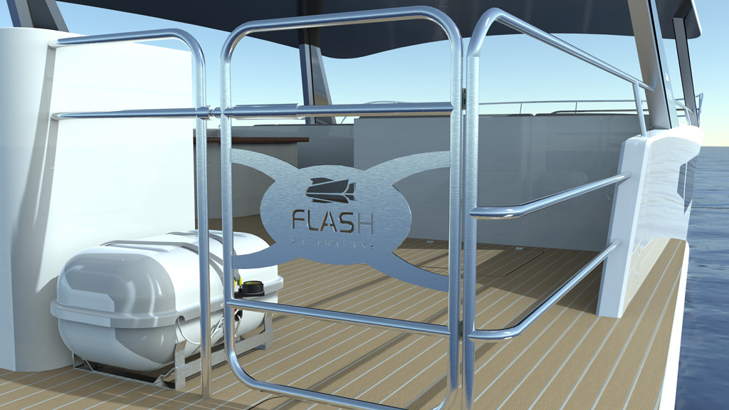 Flash Cat interior
